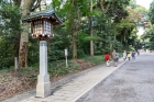 Asia;Japan;lamp;man;street;wal