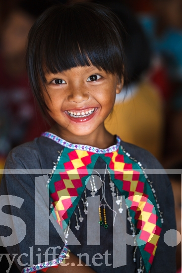 Lahu;Thailand;child;girl;village