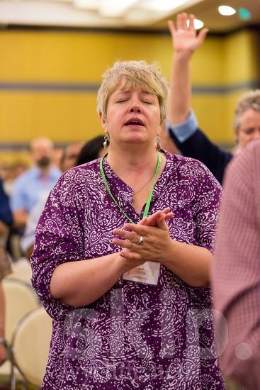 American;ICON;Look!2012;North American;SIL International Conference;Wycliffe Global Gathering;sing;woman