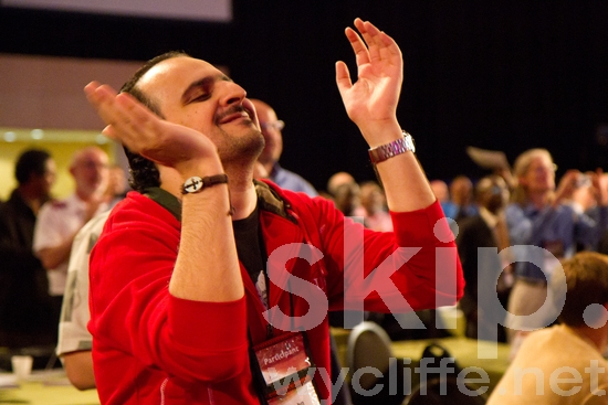 Cape Town;Clapping;Conference;Happiness;Happy;Joy;Kuwait;Lausanne;Lausanne Congress;Man;Middle East;People;Worship