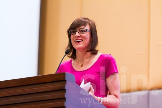 American;ICON;Look!2012;North American;SIL International Conference;Wycliffe Global Gathering;glasses;smile;woman