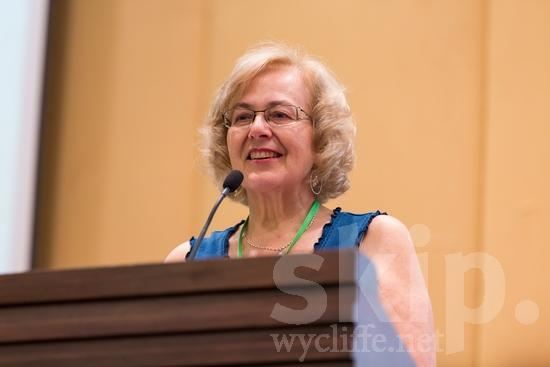 Canadian;ICON;Look!2012;North American;SIL International Conference;Wycliffe Global Gathering;talking;woman