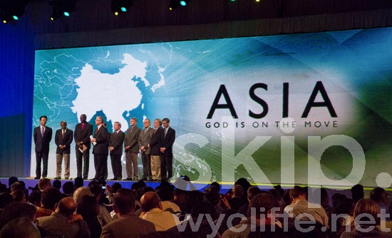 Asia;Cape Town;Conference;Lausanne;Lausanne Congress;Men;People;Stage