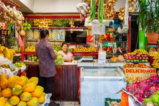 Central America;Costa Rica;San Jose;fruits;sell;street photography;vegetables;women