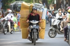 Hanoi;Transportation;Load;Carr