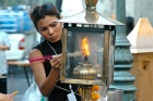 Fire;Incense;Thai;Woman;flame