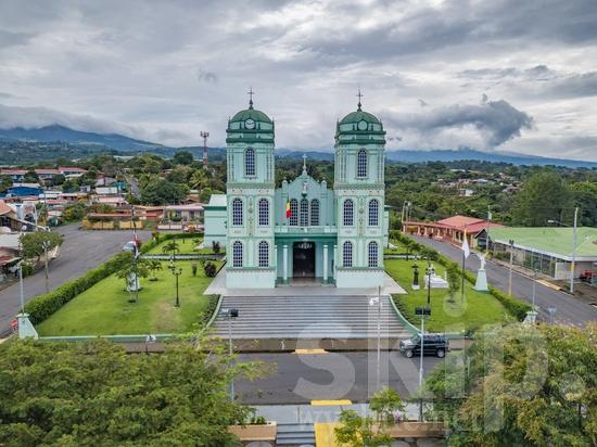Central America;Costa Rica;Mavic Pro;San Jose;city;clouds;drone;mountains;street photography;streets