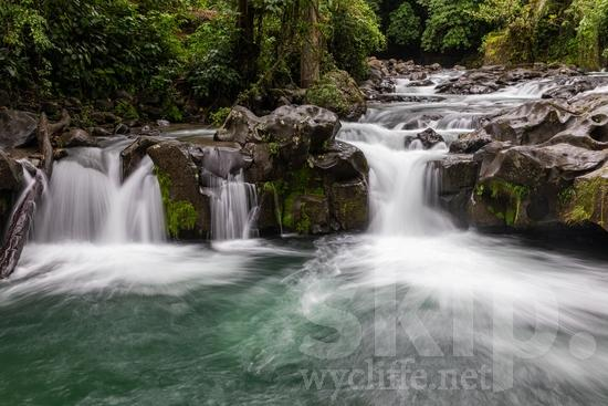 Central America;Costa Rica;river;scenic photography;waterfall
