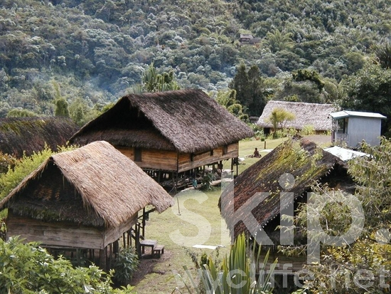 Highlands;Hill;Hills;Houses;Hut;Huts;Melanesian;Moutains;Nahu Village;PNG;Pacific;Pacific Islands;Papua New Guinea;Scenic;Thatched Roofs;Village;Village Houses