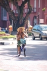 Bicycle;Transportation;Woman