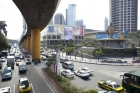 Philippines;traffic;overpass;s