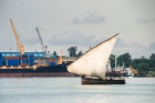 Africa;boat;freighter;sail;sea