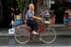 Asia;Asian;Asien;Bicycle;Flag;