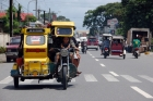 Antique;tricycle;street;trafic