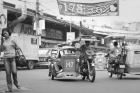Philippines;tricycle;traffice;